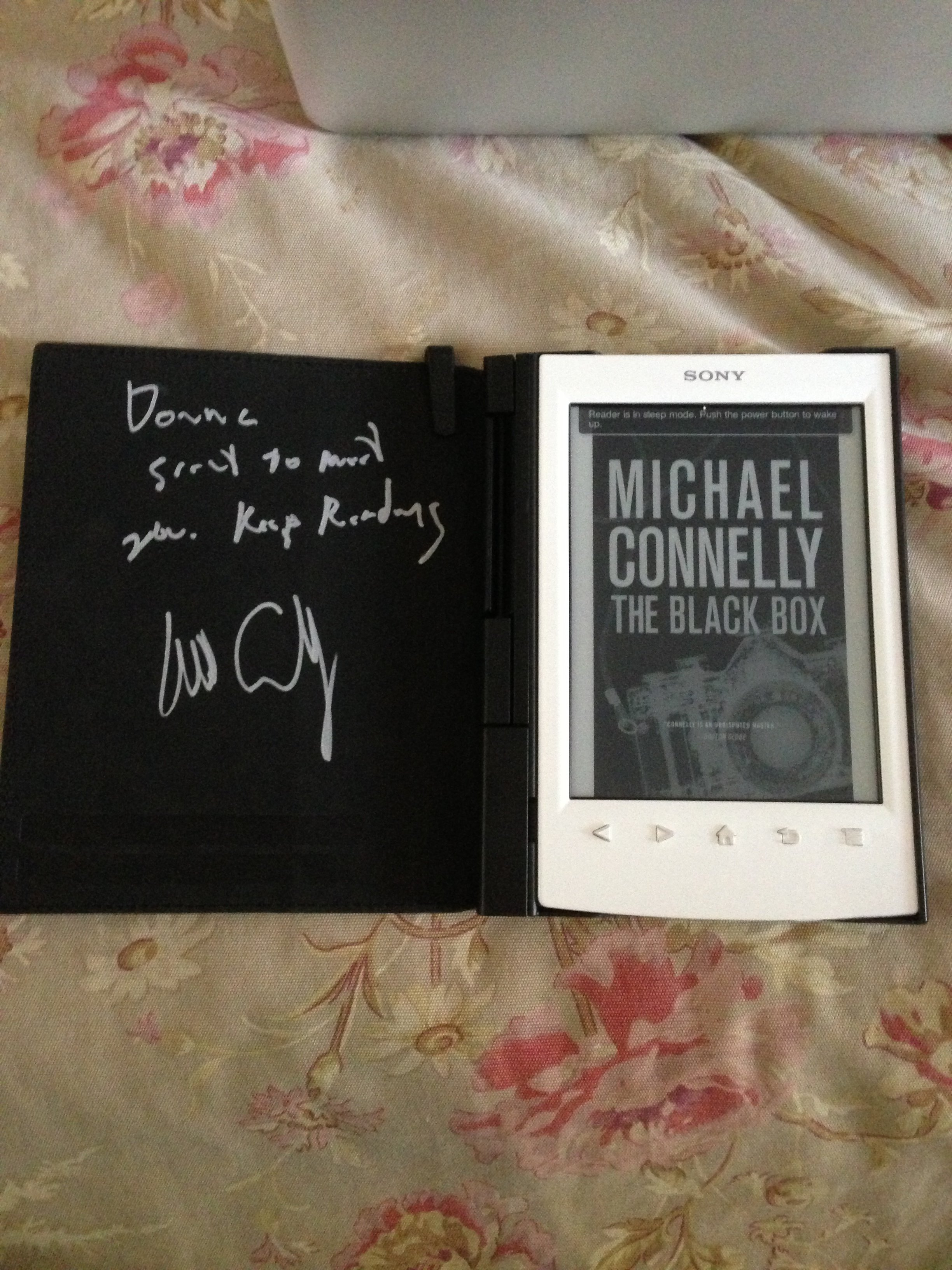 Michael Connelly's Autograph